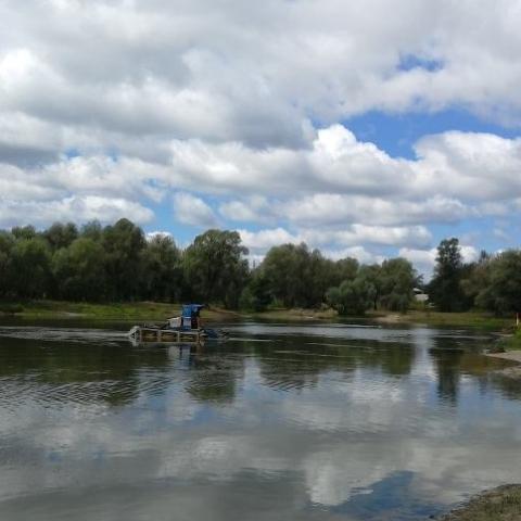 В Киеве расчистят и благоустроят Синее озеро на Виноградаре