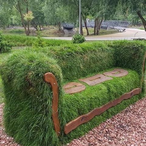 В Киеве создали диван