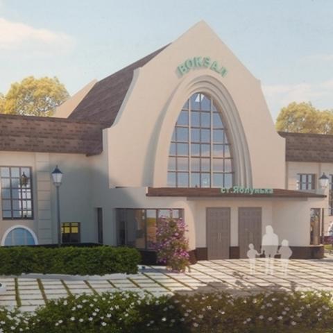 В Киеве строят вокзал на Малой Юго-Западной железной дороге