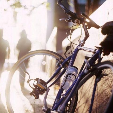 В Киеве велосипеды могут ездить вместе с троллейбусами по бульвару Дружбы Народов