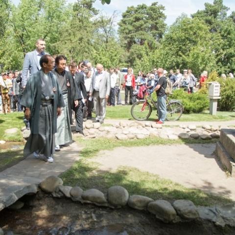 В Киеве завершилась вторая очередь реконструкции парка Киото
