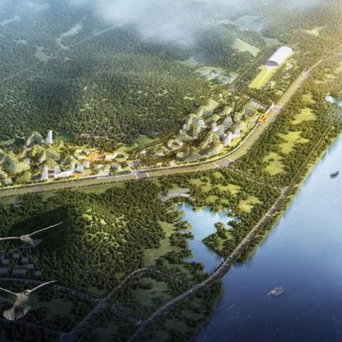 В Китае начали строить «город-лес»