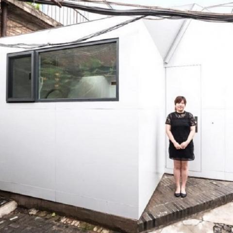 В Китае презентовали модульный мини-дом за 10 тыс долларов