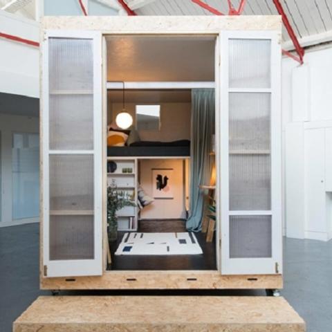 В Лондоне разработали доступное модульное жилье
