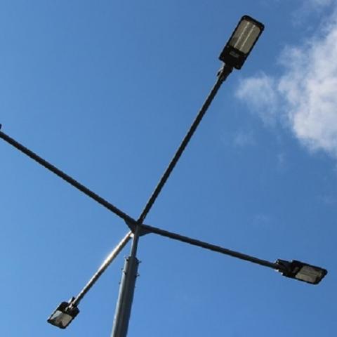 В одном из районов Киева установят сеть освещения придомовой территории