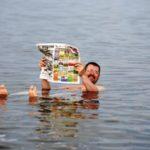 В озере Тельбин установили систему аэрации