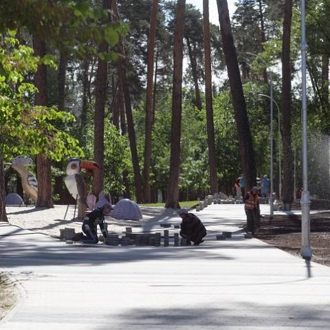 В парке «Партизанской славы» проведут ремонт