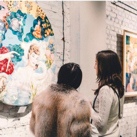 В RYBALSKY открылась художественная галерея