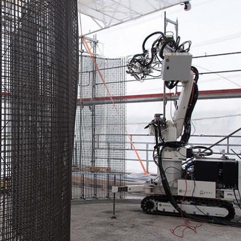 В Швейцарии впервые дом построит робот