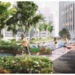 В Сингапуре построят небоскреб с деревьями на фасаде