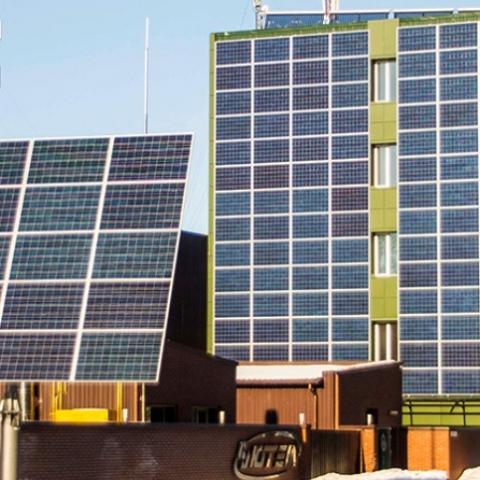 В Славутиче установят солнечные панели на арендованных у города крышах