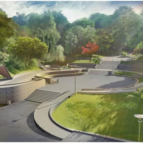 В Соломенском районе парк реконструируют за  160 млн гривен