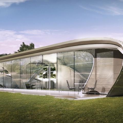 В США готовятся к строительству первого напечатанного дома (фото)