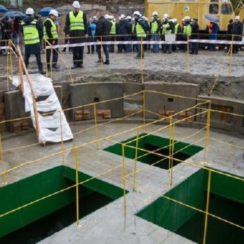 В столице запустили новую ветку канализации