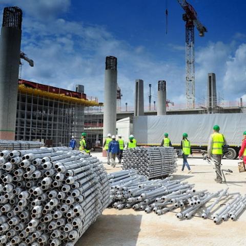 В Украине растут объемы строительства