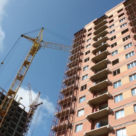 В Украине сдают в эксплуатацию все меньше жилья