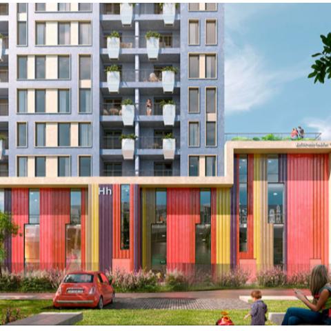 В ЖК Happy House от SAGA Development стартовали продажи квартир