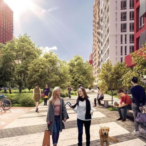 Вартість квартир в ЖК формату «місто в місті» збільшилася майже на 10%