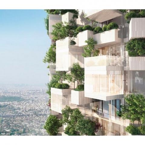 «Вертикальный лес» построят во Франции