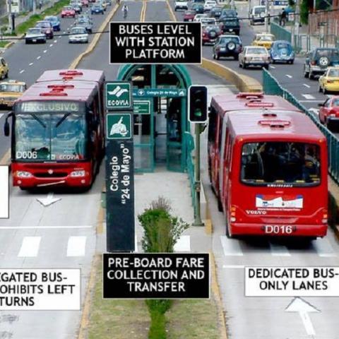 Вместо метро - метробус: власти планируют запуск скоростного автобуса на Троещину