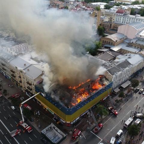 Для выяснения причин пожаров в исторических домах создадут комиссию