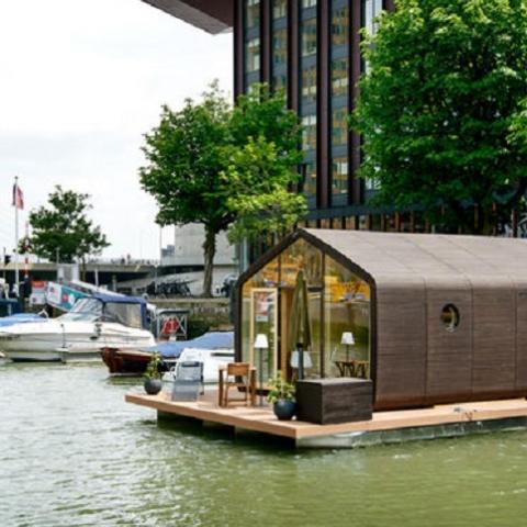 Дом из картона в Голландии