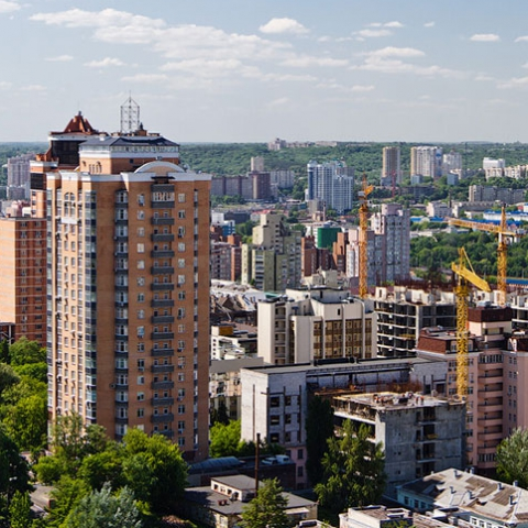 Карта районов: сколько и какого жилья строят в разных районах Киева