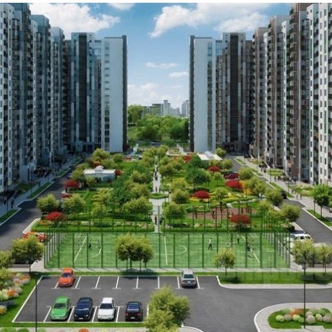 Новая жизнь цветочных садов на Сырце: парковый квартал «Місто квітів»