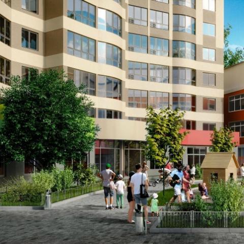 Перепланировка однокомнатной квартиры в ЖК Family & Friends: меняем геометрию