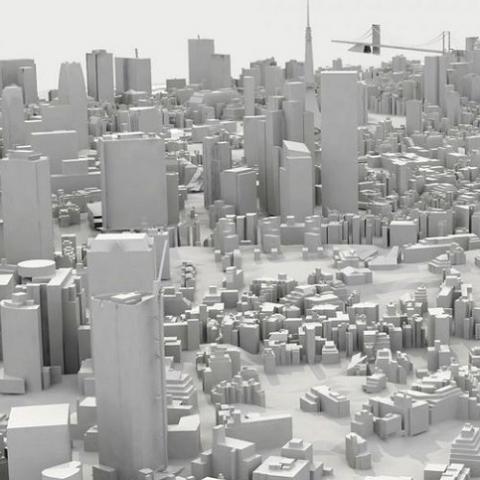 Рост городов в высоту напоминает развитие живого организма