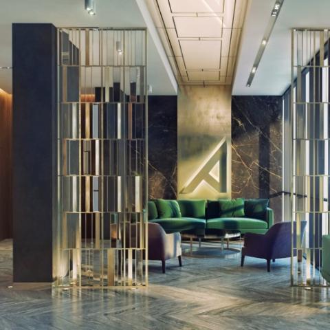 Стильный бизнес-класс: 4 ЖК с дизайнерскими холлами