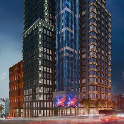 Свобода и комфорт: перепланировка квартиры с большой террасой в ЖК Chicago Central House