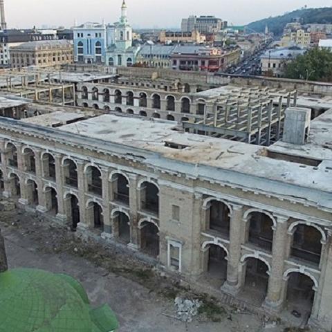 В Гостином дворе предлагают создать музей Киева