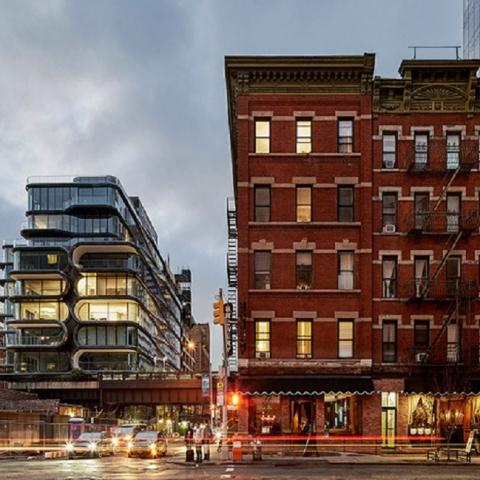 В Нью-Йорке завершено строительство ЖК по проекту Захи Хадид