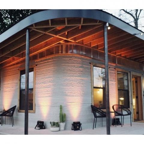 В США разработали технологию 3D-печати домов за 24 часа