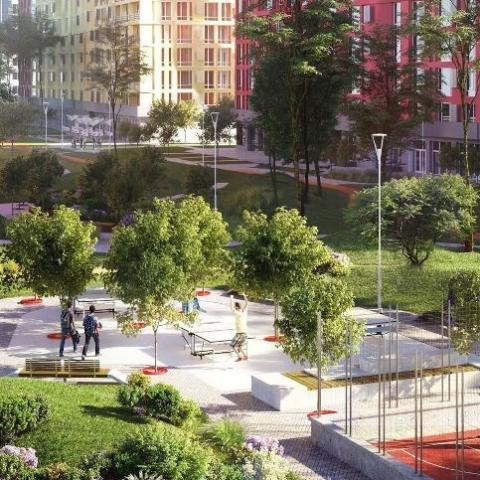 За підсумками липня  ціна квартир в ЖК типу «місто в місті» збільшилася на 1