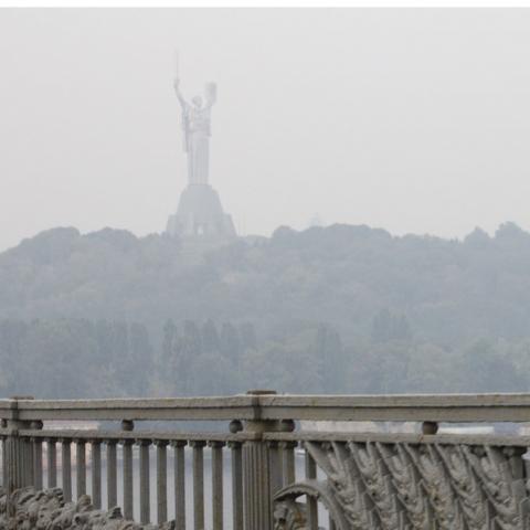 Загрязнение послужит причиной смога в Киеве