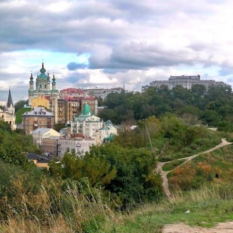 Замковую гору в Киеве хотят превратить в парк