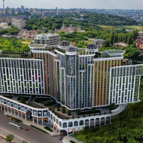 ЖК Podil Plaza & Residence: по дороге с Подола в центр