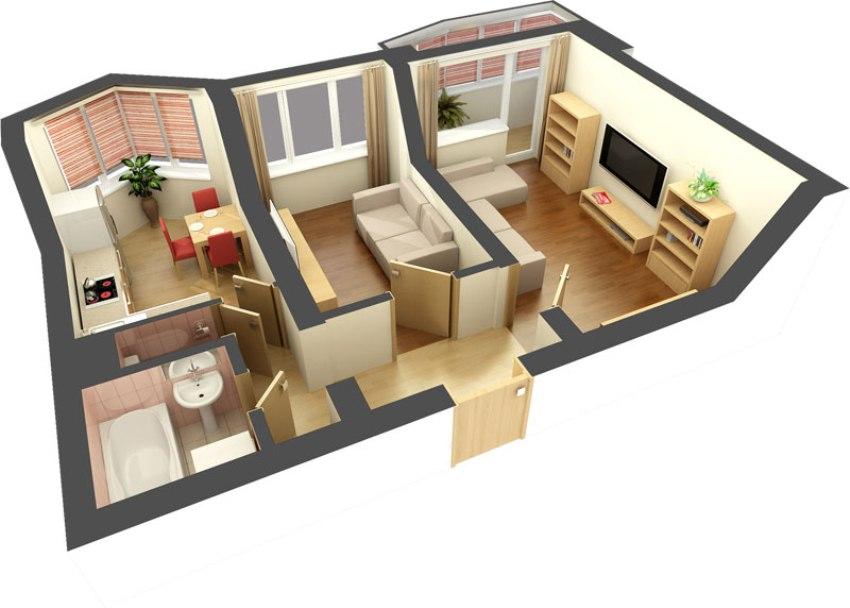 является ли гостиная жилым помещением